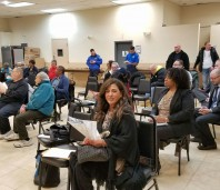 Community 60 Precinct meeting Photos ​by Eddie Mark